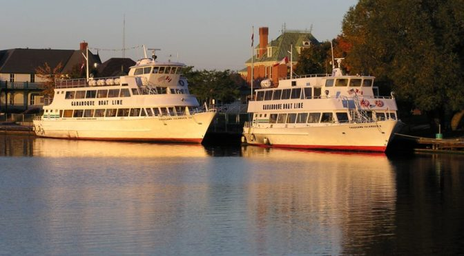 Gananoque Boat lines sold.